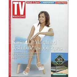 TV MAGAZINE N°22444 09/10/2016 LE MARCHAND/ LIGNAC/ EMISSIONS POLITIQUES/ TELLIER