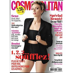 COSMOPOLITAN N°511 JUIN 2016 JOHANSSON/ SPECIAL BEAUTE/ SLOW LIFE/ MAILLOTS/SEXE