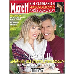 PARIS MATCH N°3517 13/10/2016  NAGUI/ KARDASHIAN/ MITTERRAND/ TCHERNIA/ FIRTH/ MIGRANTS