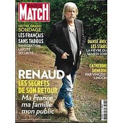PARIS MATCH N°3518 20/10/2016  RENAUD/ DENEUVE/ DANSE AVEC LES STARS/ FRANCAIS SANS TABOUS