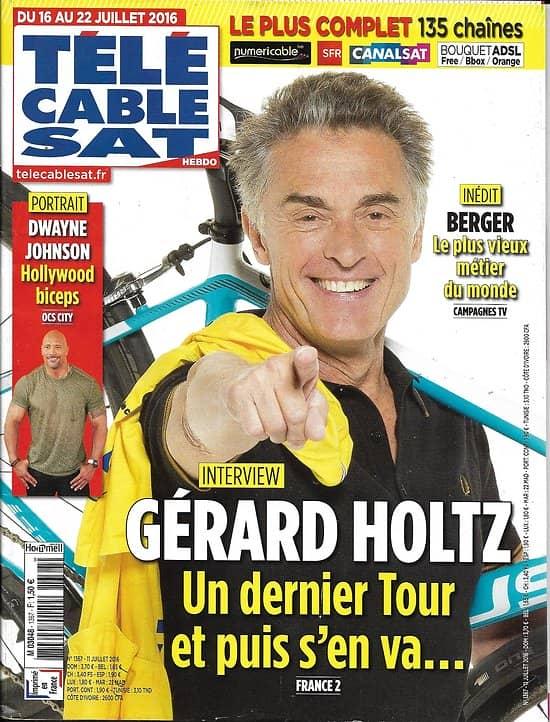 Telecable sat hebdo n 1367 16 07 2016 holtz d johnson films scandaleux arestrup - Tele cable sat ...