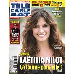 Télé Cable Sat n°1385 19/11/2016  Laëtitia Milot/ Hazanavicius/ Giroud-Arsenal/ Gad Elmaleh