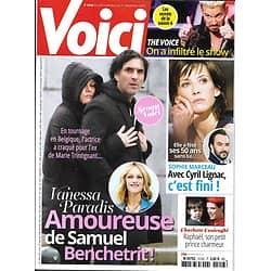 VOICI N°1516 24/11/2016 PARADIS/ MARCEAU&LIGNAC/ THE VOICE/ CASIRAGHI/ FLAMENT