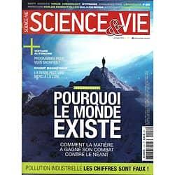 SCIENCE&VIE n°1191 décembre 2016  Pourquoi le monde existe/ Pollution/ Hypnose