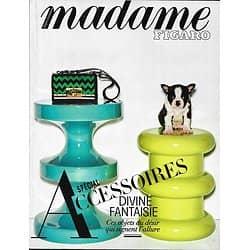 MADAME FIGARO n°22420 09/09/2016  Spécial Accessoires/ Fanny Ardant/ Edgar Morin/ Aurélie Dupont/ Tilda swinton/ Roxane Mesquida