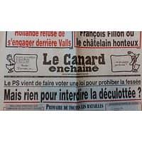 LE CANARD ENCHAINE N°5019 4 JANVIER 2017  MAIS RIEN POUR INTERDIRE LA DECULOTTEE?