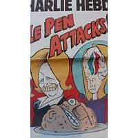CHARLIE HEBDO N°1183 25 MARS 2015  LE PEN ATTACKS!/ BALKANY/ POLLUTION/ VOTE