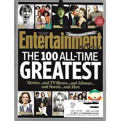 ENTERTAINMENT WEEKLY N°1266-1267 5 JUILLET 2013 LES 100 MEILLEURS FILMS, ALBUMS, SERIES, LIVRES/ GANDOLFINI