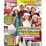 TELE STAR N°2099 24/12/2016  KIDS UNITED/ LEMARCHAL/ MENU NOEL D'ANDRIEU/ LEMERCIER/ KATE&WILLIAM