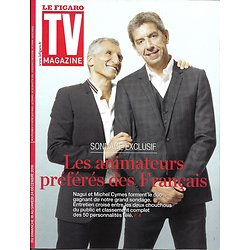 TV MAGAZINE N°22504 18/12/2016  NAGUI & MICHEL CYMES/ TOP GEAR/ AUTO MOTO