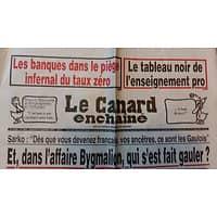 LE CANARD ENCHAINE N°5004 21 SEPTEMBRE 2016  DANS L'AFFAIRE BYGMALION, QUI S'EST FAIT GAULER?