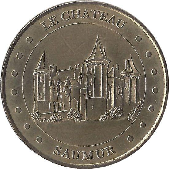 Le Château De Saumur 2-Face Cerclée