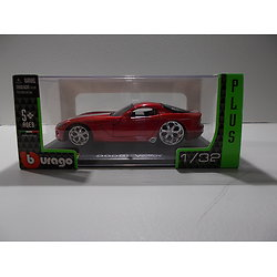 NewRay 1:32 échelle DIE-CAST Dodge Viper SRT en rouge modèle de voiture