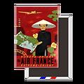 Magnet Affiche Europe Orient Extrême-Orient