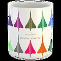 Mug Concorde icônes