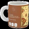 Mug Planisphère caramel