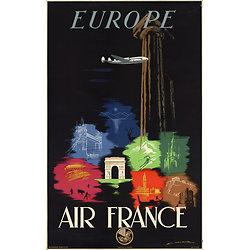 Affiche Europe 50X70 A027