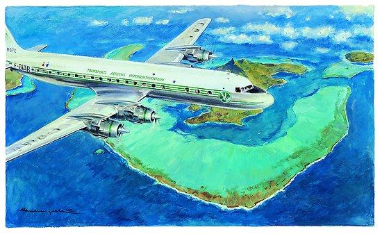 Gouache DC-7
