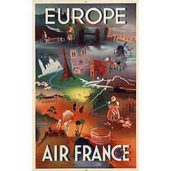 Affiche Europe 63x100 A028