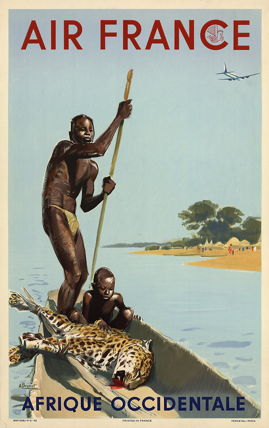 Affiche Afrique Occidentale 63x100 A038