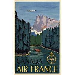 Affiche Canada 63x100 A056