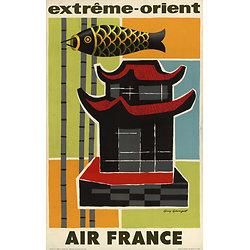 Affiche Extrême Orient 63x100 A072