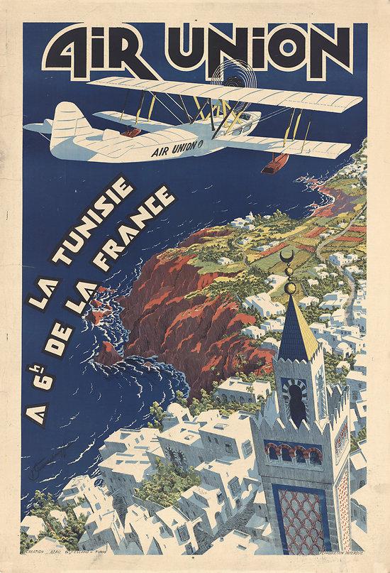 Affiche Air Union 63x100 A467