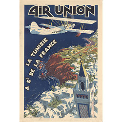 Carte postale Air Union