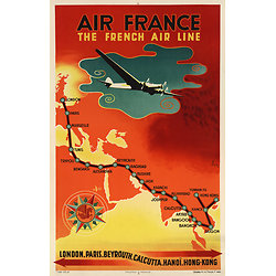 Carte postale Air France The French Airline A015