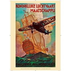 Affiche KLM Fokker 1926