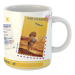 Mug Let's travel Air France Egypte