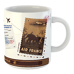Mug Let's travel Air France Afrique