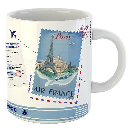 Mug Let's travel Air France Paris