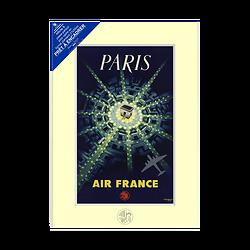 Prêt à encadrer Paris Arc de Triomphe 21x30 cm