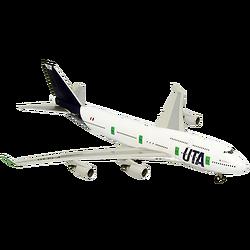 B747-400 UTA