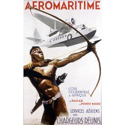 Affiche Aeromaritime 63x100 A228