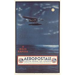 Affiche Aeropostale A MAIS RAPIDA 63x100 A566