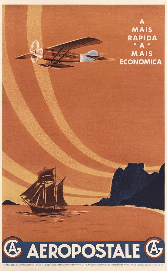 Affiche Aeropostale A MAIS ECONOMICA 63x100 A567