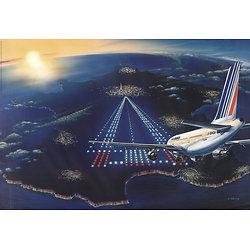 Affiche destination France 63x100 A578A