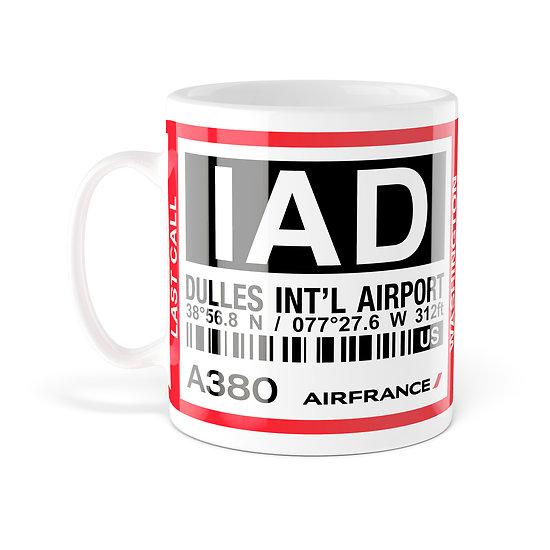 Mug A380 IAD Washington AF028