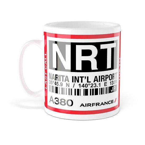 Mug A380 NRT Tokyo AF276