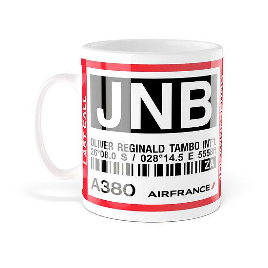 Mug A380 JNB Johannesbourg AF990