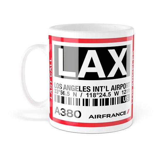 Mug A380 LAX Los Angeles AF066