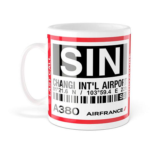 Mug A380 SIN Singapore AF256