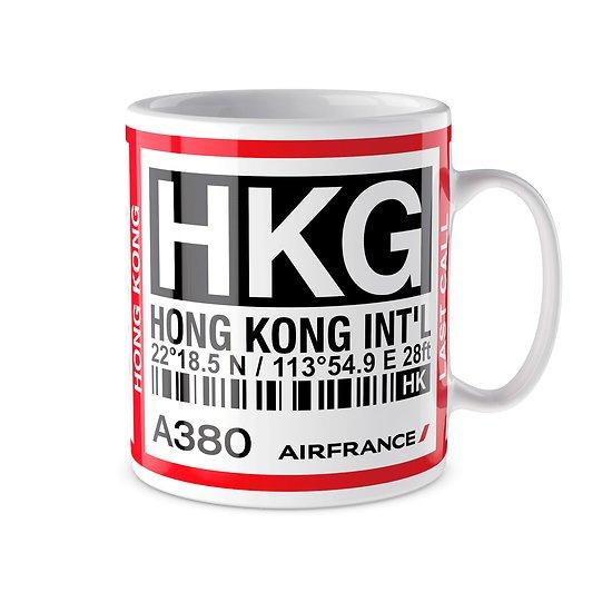 Mug A380 HKG Hong Kong