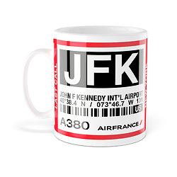 Mug A380 JFK New York AF006