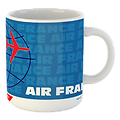 Mug Air France Time Table 1960