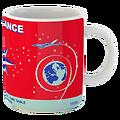 Mug Air France Time Table 1956