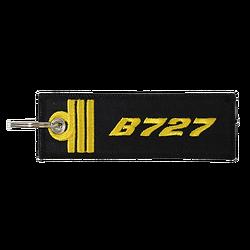 Porte-Clefs Officier Pilote de Ligne B727