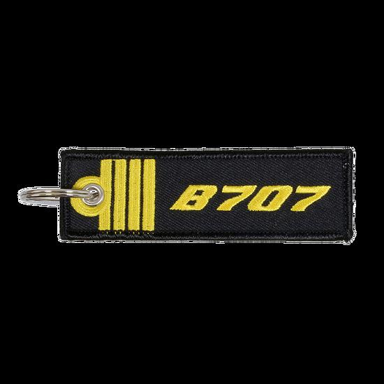 Porte-Clefs Commandant de Bord B707